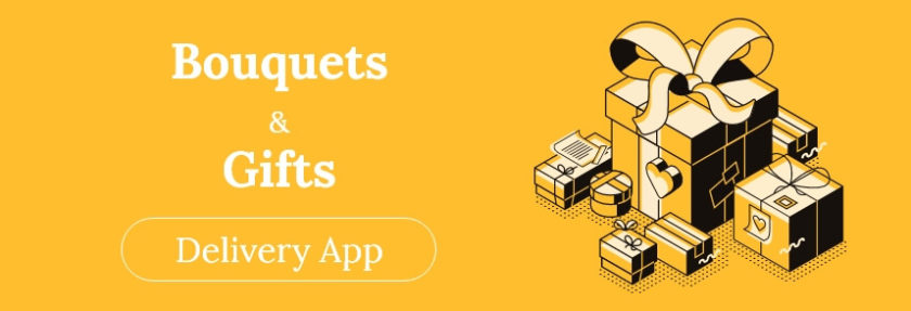 Bouquets and gifts delivery app