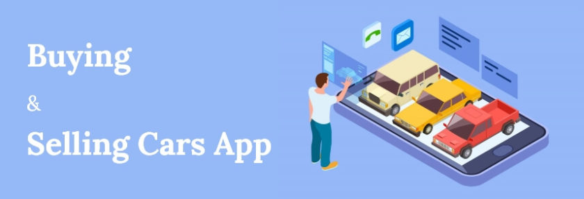 Buying and selling cars app