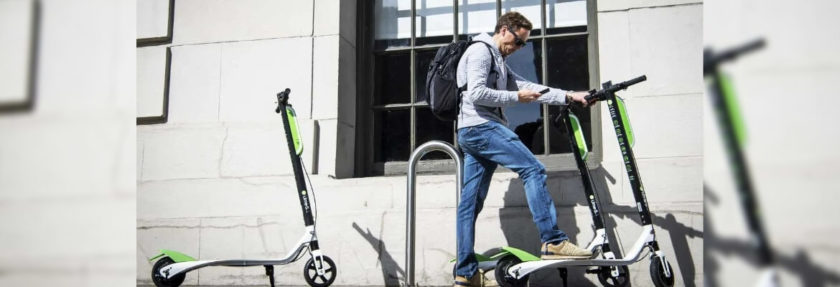 E-scooter Sharing App