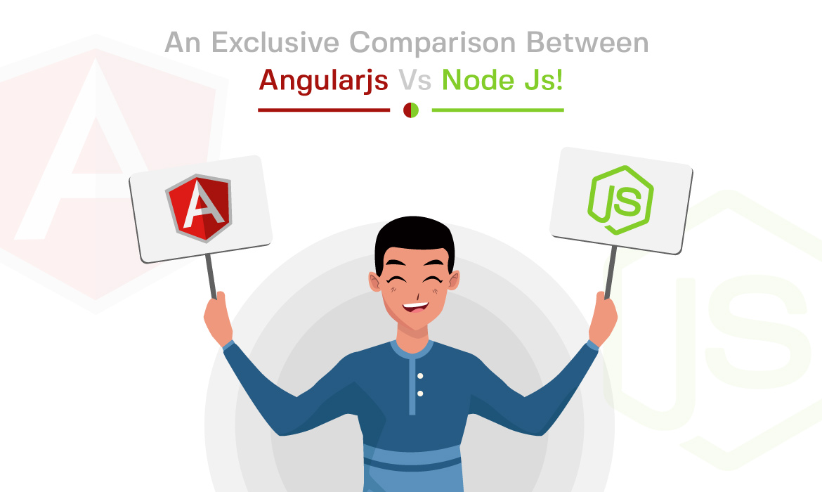 difference between angular js and node js