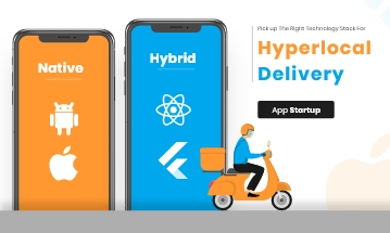 Hyperlocal Delivery App Technology Stack in 2021