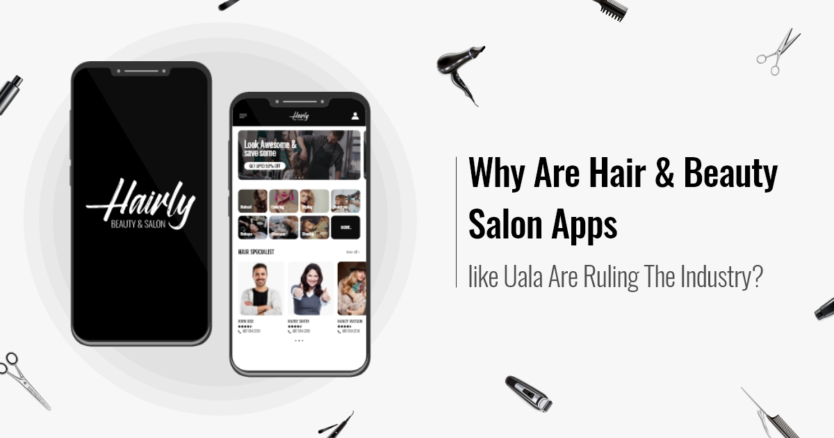 hair & beauty treatment app development