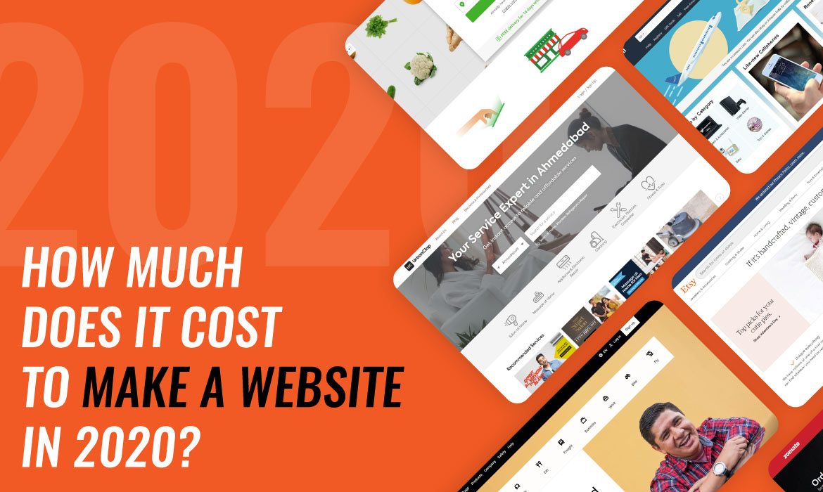 Cost to Make a Website in 2020