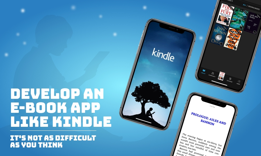 Develop an Ebook App Like Kindle