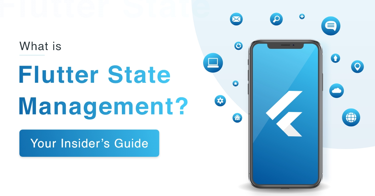 Flutter State management