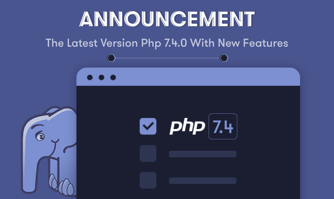 PHP 7.4.0 New Features