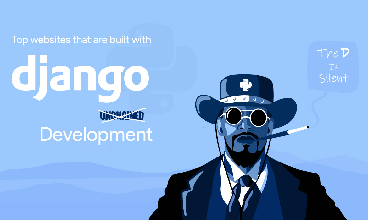website built with Django Frameworks