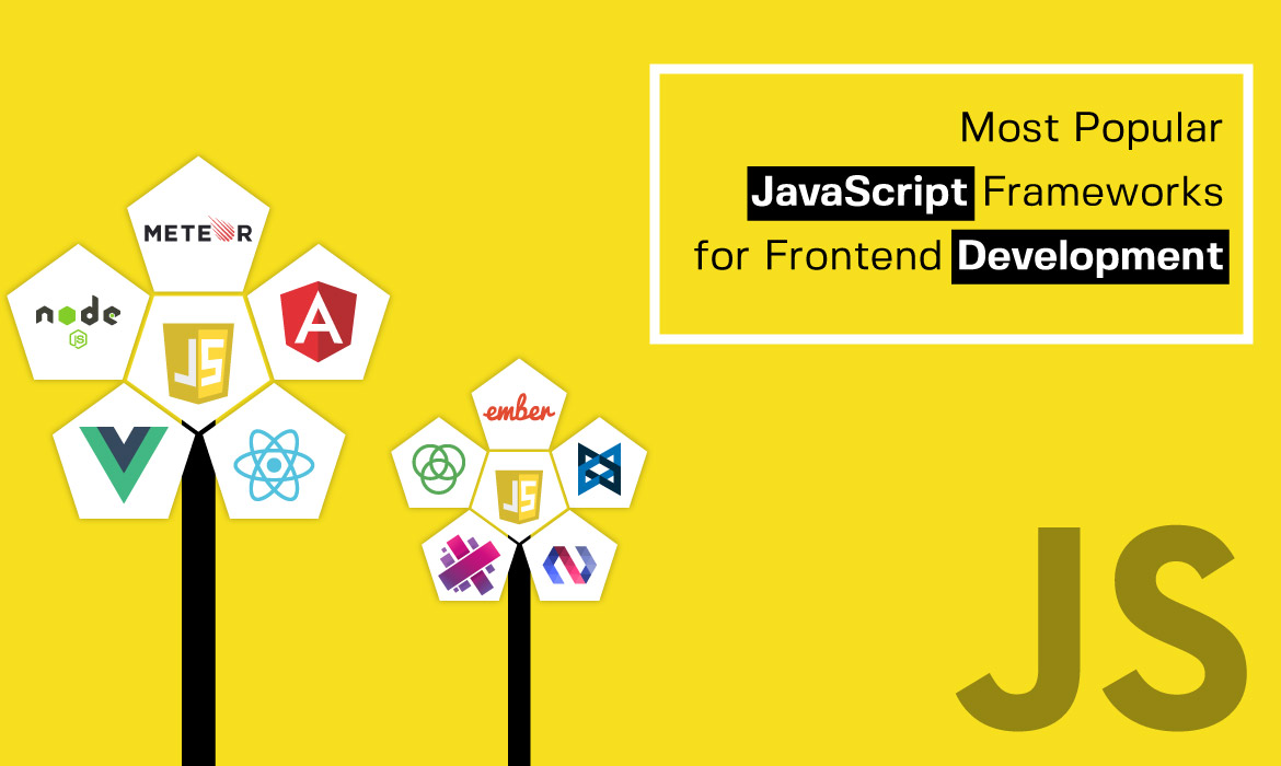 Popular JavaScript Frameworks list for Frontend Development