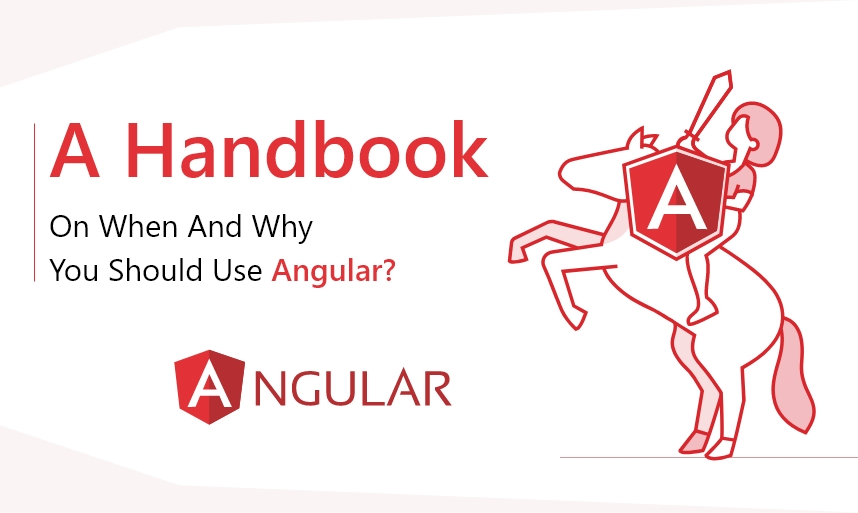 use Angular for web application project