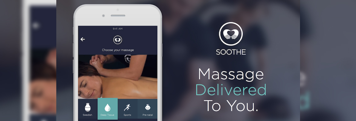 Build On-Demand Massage app like Soothe