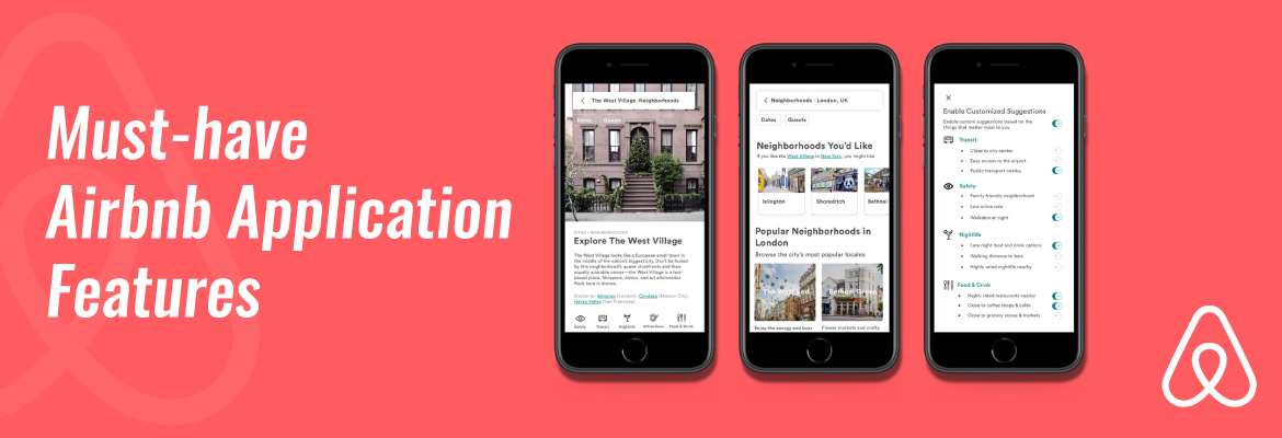 Build an application like Airbnb
