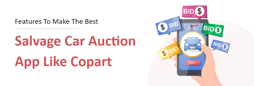 car auctions app development like copart