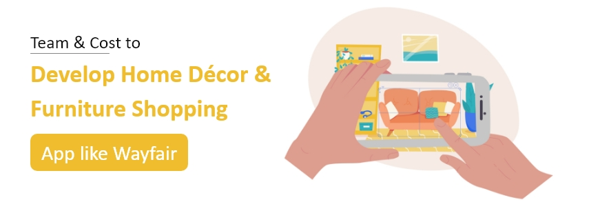 Home Décor and Furniture Shop Mobile App Development Cost