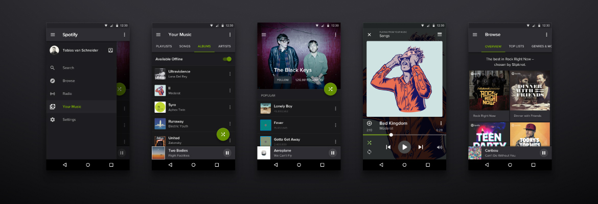 Music Streaming Mobile App Development Company