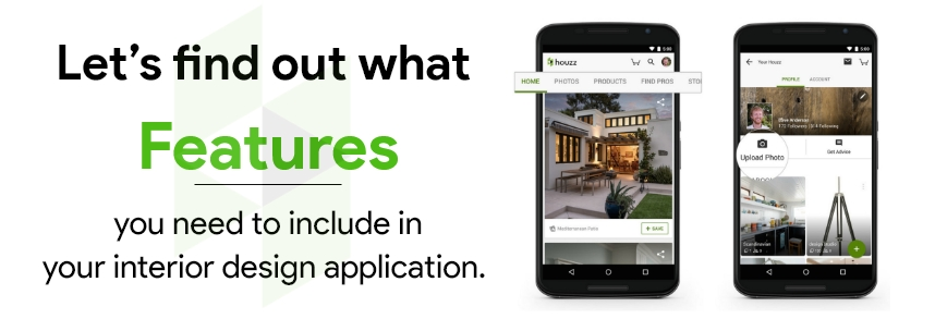 Cost to build an app like Houzz