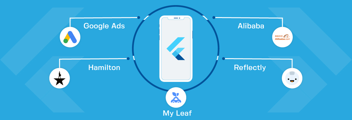 apps built using flutter framework
